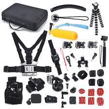 50-in-1 im Freiensport Zubehör-Kit für GoPro HERO 1 2 3 3+ 4 5 6  Set Zubehör