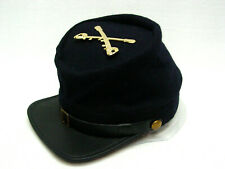 Civil War Union Navy Blue Kepi Union Yankee Cavalry hat Crossed Sword Small