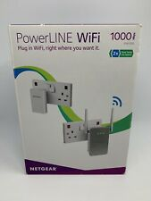NETGEAR PowerLine WiFi 1000Mbps PLW1000 with Network Cable
