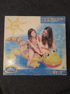 Intex Gecko Ride-On Rare Inflatable NIB