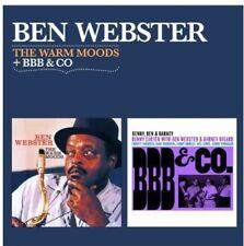 Ben Webster - Warm Moods + BBB & Co [New CD] Spain - Import