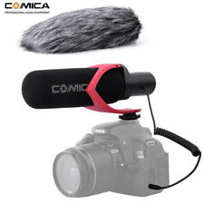 Comica CVM-V30PRO Directional Condenser Shotgun Video Microphone for Camera Red