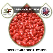 Cinnamon Red HOT Flavor Drops Flavoring Concentrate - 1oz/30ml - SageFox - FL063