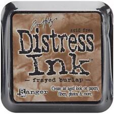 Tim Holtz Distress Ink Pad - FRAYED BURLAP - Stamping - Brown