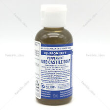 [Dr. Bronner's] Hemp Peppermint Pure Castile Soap 2oz / 59ml for face and body