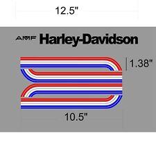 HARLEY-DAVIDSON AMF1975 SS SX AMF Tank Decal 250/175