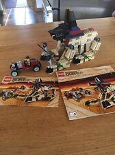 Lego Pharaoh's Quest 7326 aumento de la Esfinge 100% Completo