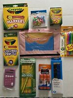 Back To School/Home School Supplies Essentials Bundle Pack -10 Items