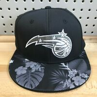 Orlando Magic NBA Basketball Adidas Stretch Fit L/XL Hat Hawaiian Cap NWT Black