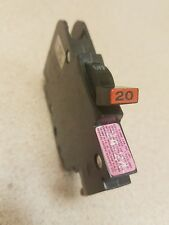 Federal Pacific NC120 Circuit Breakers (20 Amp, 1 Pole, Thin Style) New type