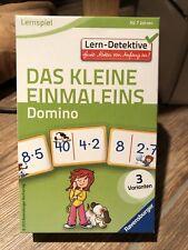 Lern-Detektive - Lernspiel: Das kleine Einmaleins. Domin... | Buch | Zustand gut