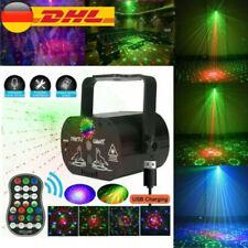 90 Muster Laser Bühnenlicht Projektor RGB LED USB Party Disco für Home Party DHL