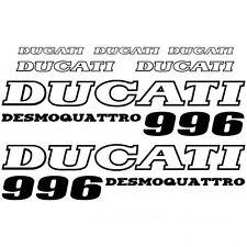ADHESIVO PEGATINA - AUFKLEBER ADESIVI -  Ducati 996 desmo Réf-MOTO-026