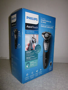 Philips S5400/41 Elektrorasierer mit SmartClick Bartstyler | S5400 | Wet & Dry