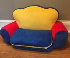 Build-A-Bear Multi Color Fold Out Bed Chair Couch Futon Plush Accessory