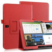 "Plegable Funda Tablet Para Samsung Galaxy Note Pro T520 Rojo 10,1"" + Pin +"