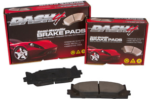 Disc Brake Pad Set-Semi Metallic Pads Front Dash 4 Brake MD1044