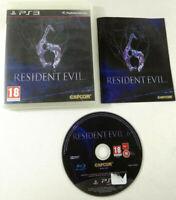 Jeu Playstation 3 PS3 VF  Resident Evil 6 avec notice  Envoi rapide et suivi