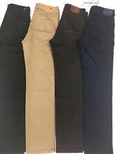 Hombre Chinos,Peviani Star Jeans,Corte Recto G Pantalones 4 Colores,Tallas 30-44