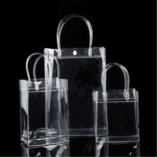 Fashion Mini PVC Clear Tote Bag Transparent Purse Shoulder Handbags 1x NDT