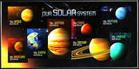 Australia 2015 Our Solar System Imperforate Minisheet Limited Edition  MNH