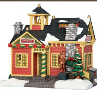 LEMAX -Louis Joliet Elementary School -Holiday Village -Train -NO OUTER BOX