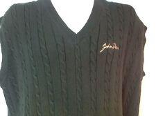 John Deere Sweater Vest Size XL Green Dunbrooke NEW Ships Free