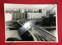 Original Gross Foto DRESDEN Blick über die Carola Brücke    ( F15578