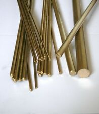 3 x New Brass Round Bar/Rod 4 mm Diameter x 330 mm