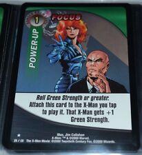 Focus # 29/131 X-Men Trading Playing Cards Games TCG Xmen Power-Up Rares MINT