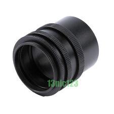 Metal M42 Macro Extension Tube Camera Lens Adapter 42mm Screw Mount 3-Ring/Set