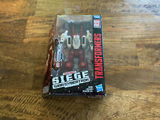 Transformers Siege Generations War for Cybertron Deluxe Sixgun