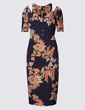 Bourne Floral Dress UK 10 Aw17 234 Lined