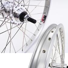 """Alex Y303 Bmx Wheels 3/8"""" 20"""" Silver Rear (Only) 3/8"""" X 110 Bike"""
