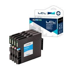 4X d'inchiostro per Ricoh GC-21 GC21 GC21K GC21C GC21M GC21Y GX-7000 GX-5000