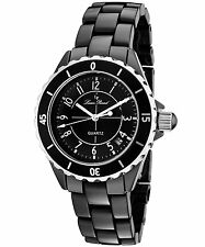 Lucien Piccard 28007BK Black Dial Black Ceramic Women's Watch