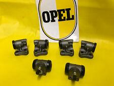 NEU SATZ Radbremszylinder vorne + hinten Opel Olympia Rekord P1 / P2 + Rekord A