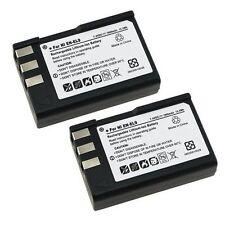 Fosmon 2x 1800 mAh Replacement EN-EL9 Li Ion Battery for Nikon D-60 D5000 D3000