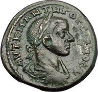 GORDIAN III 238AD Nicopolis ad Istrum TYCHE VIRGO Ancient Roman Coin i50994
