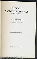 INDOOR MODEL RAILWAYS- E W TWINING - 1937 - Ho & oo Gauges - Electric Motors