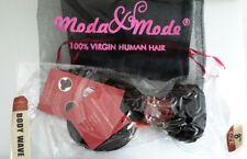 """Moda mode hair 8"""" body wave  unprocessed vifgin human hair 100g"""