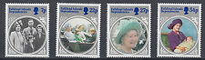 Falklandinsel Dependencies 133-136 posf. 85. Geburtstag Königinmutter Elisabeth