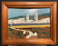Peinture Orientaliste Maroc Algérie 1950 Art Moderne Oriental Maghreb