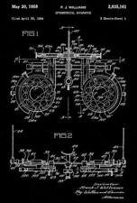 1958 - Optometrical Apparatus - Eye Clinic - Optometrist - Patent Art Magnet