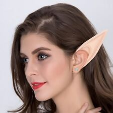 Large Manga Anime Elf Ears Cosplay Mask Pointed Ear Tips Halloween Party Costume