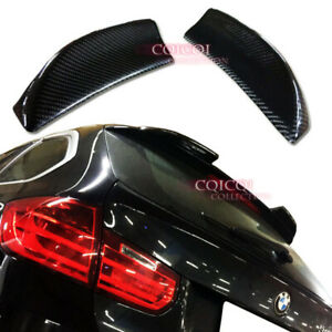 Carbon Fiber BMW 12~18 F31 3-series wagon touring roof spoiler extend ◎