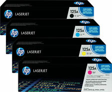 4x TONER für HP COLOR LASERJET CM1312MFP CM1312NFI CP1210 CP1215N CP1217  125A