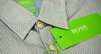 NWT $125 Hugo Boss Blue Shirt LS Mens M L XL XXL C-Bustai 50328443 404 Regular