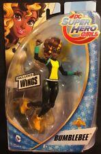DC Super Hero Girls Bumblebee 6in. Action Figure New 2015 Mattel