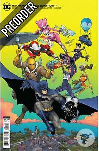 Batman/Fortnite: Zero Point #1 Cover B DC Comics PREORDER SHIPS 21/04/21
